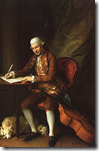Portrait of Carl Friedrich Abel by Thomas Gainsborough, 1777
