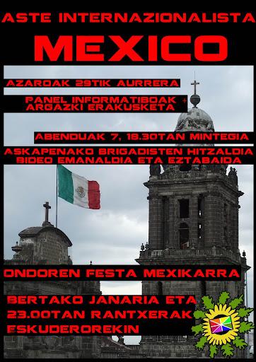 mexiko festa andoain