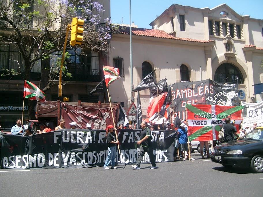 repudio reyes españoles argentina