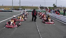 チャレンジ耐久レース スターティンググリッド