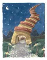 Ilustración de La Torre Infinita de  Marta Madrid