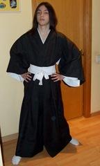 Hakama realizada por La Costurera Ninja