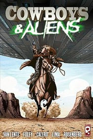 Cowboys vs Aliens, novela gráfica
