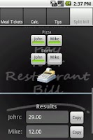 Screenshot of Pay Ur Restaurant Bill Ads
