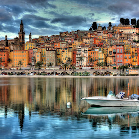 Menton old town  by Jean Marc Colonna d'Istria - City,  Street & Park  Historic Districts