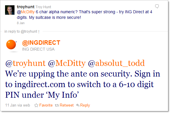 ING Direct upping the ante on password security