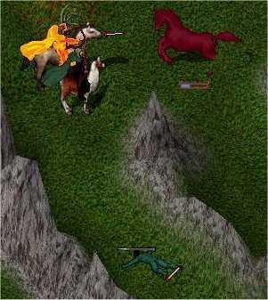 Captura de pantalla del Ultima Online