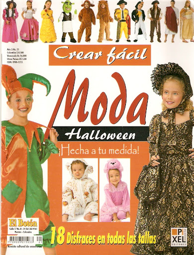 disfraces y patrones para halloween