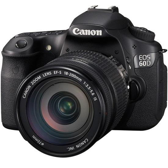 My Canon EOS-60D