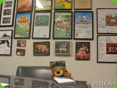 Sleepy Bear in Brouadway Bound Conference Room - Planning Next Big Show