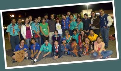 Ver con boys scouts en ciudad obregon