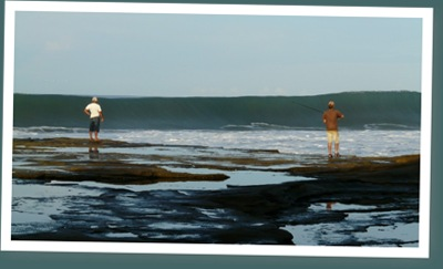 Ver olas en miramar, nicaragua