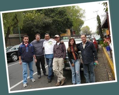 Ver en Coyoacan con los amigos motoqueros