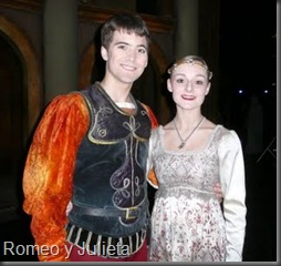 Beijing, Mathias and LJ, in Romeo and Juliet costumes