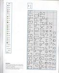 abecedarios punto de cruz. (261)