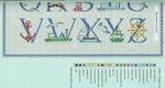 abecedarios punto de cruz. (266)