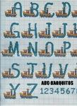 abecedarios punto de cruz. (267)