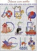 abecedarios punto de cruz. (5)