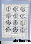abecedarios punto de cruz. (160)
