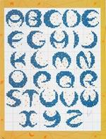 abecedarios punto de cruz. (164)