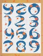 abecedarios punto de cruz. (168)