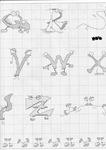abecedarios punto de cruz. (173)