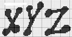 abecedarios punto de cruz. (197)