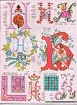 abecedarios punto de cruz. (342)