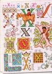 abecedarios punto de cruz. (357)