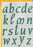 abecedarios punto de cruz. (294)