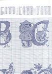 abecedarios punto de cruz. (301)