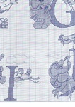 abecedarios punto de cruz. (304)