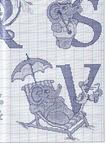 abecedarios punto de cruz. (313)