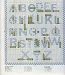 abecedarios punto de cruz. (693)