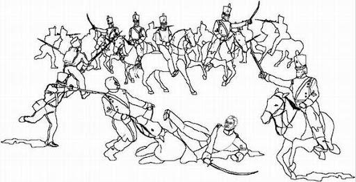 Dibujo para coloriar de la batalla de carabobo - Imagui