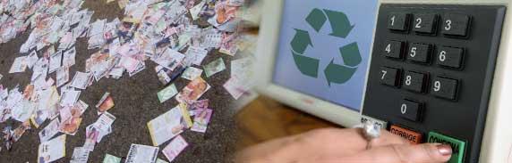 coluna zero, eleicões, reciclagem, recife, campanhas eleitorais, lixo