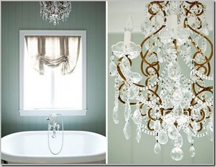 HOT chandelier in Bath
