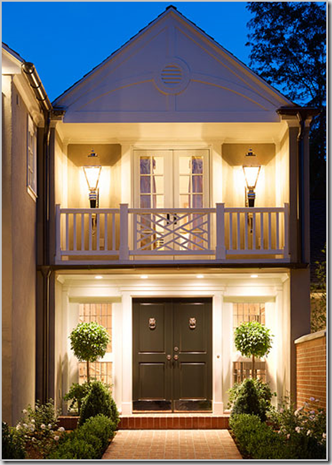 Developing designs blog by laura jens sisino black doors for Small double front doors