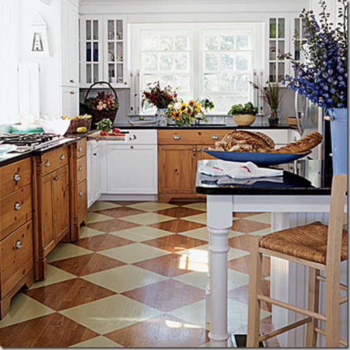 Developing designs blog by laura jens sisino add pizzazz for Painted hardwood floor ideas