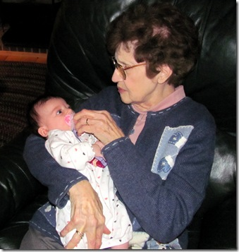 Great-Grandma Paul & Elaine