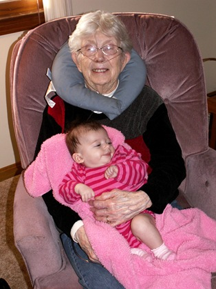 Elaine Meets Great-Grandma Hamilton