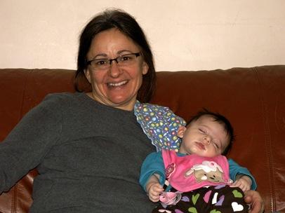 Elaine 10 Weeks Grandma Hamilton