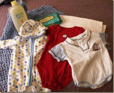 First Baby Items