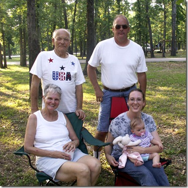 Godby Family Reunion in Arkansas