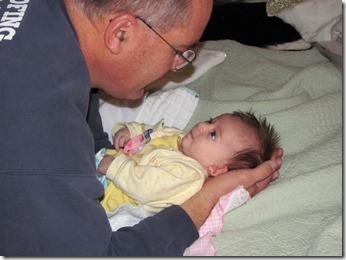 Elaine & Grandpa Godby
