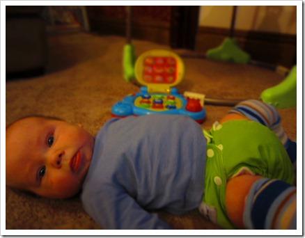 #13 Jodi Kershuk - baby Jedidiah