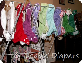 Hanging Diapers