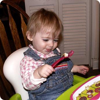 Elaine at Dinner