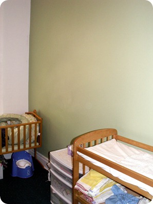 Newly Painted Nursery in Bay Ridge