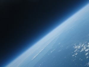 Earth from 93,000 feet
